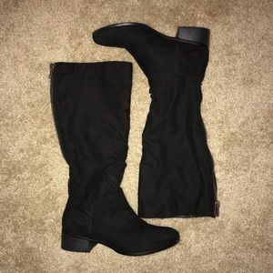 LIKE NEW - Madden Girl - Faux Suede Boots